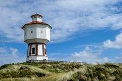 Wieża ciśnień Langeoog, Niemcy Zdjęcia Stock