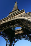 wieża eiffel patrzy się Obraz Royalty Free