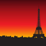 Wieża Eifla ilustracji