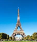 Wieża Eifla jest punktem zwrotnym w Paryż Obrazy Stock