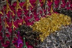 Wieża Eifla Keychains Obrazy Royalty Free