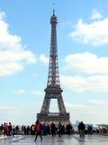 Wieża Eifla od Trocadero, Paryż Zdjęcia Stock