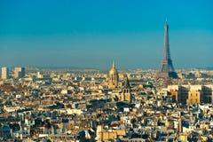 Wieża Eifla przy wschodem słońca, Paryż. obrazy stock