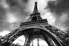 Wieża Eifla przy wschodem słońca, Paryż. zdjęcia royalty free