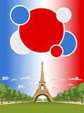 Wieża Eifla w Paryż Fotografia Royalty Free