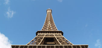 Wieża Eifla wewnątrz Obrazy Royalty Free