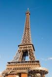 Wieża Eifla z księżyc Obraz Royalty Free