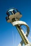 wieża kontrolna portów lotniczych obraz royalty free