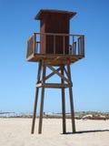 wieża na plaży Obrazy Royalty Free