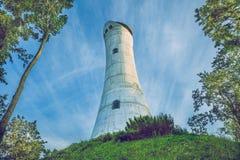 Wieża obserwacyjna w Ryskim, Ziemelblazma zdjęcia stock