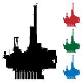 wieża wiertnicza Obrazy Royalty Free