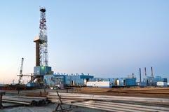 Wieża wiertnicza Zdjęcia Stock
