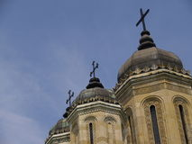 wieże kościoła obraz royalty free