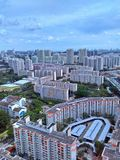 Wieżowowie, Singapur zdjęcia stock
