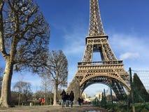 Wieży Eifla światło dzienne Fotografia Stock