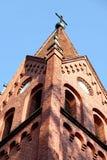 wieży kościoła Fotografia Royalty Free