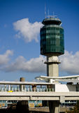 wieży kontrolnej lotniczy ruch drogowy Zdjęcie Royalty Free