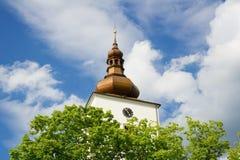 wieża baroku Fotografia Royalty Free