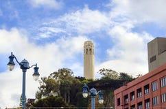 wieża coit San Francisco Zdjęcie Stock