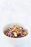 Świeża coleslaw sałatka dla lata fotografia stock