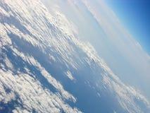 Wie das Flugzeug sich dreht lizenzfreies stockbild