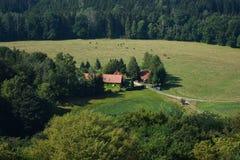 Wieś dom Obrazy Stock