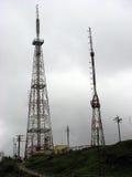 wieże tv Zdjęcie Stock