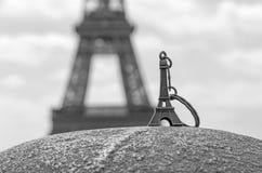 Wieża Eifla Keychain Obraz Stock