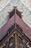 Wieża Eifla odgórny widok Zdjęcia Stock
