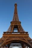 Wieża Eifla przy zmierzchem zdjęcia stock