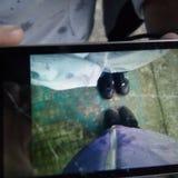 Wie ein Foto Stockbilder