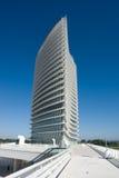 wieża expo2008 wody Zaragoza Obrazy Stock