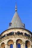 wieża galata Istanbul indyk Obrazy Stock