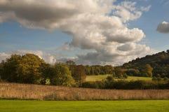 wieś krajobraz Zdjęcia Royalty Free