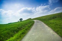 Wieś krajobraz Obrazy Royalty Free