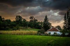 Wieś krajobraz Obrazy Stock
