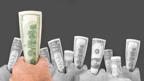 Wie man erste Million Dollar erwirbt Lizenzfreie Stockfotos