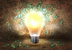 Wie man Geld erwirbt? Stockfoto