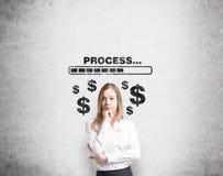 Wie man Geld erwirbt? lizenzfreie stockbilder