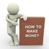 Wie man Geld verdient Lizenzfreies Stockbild