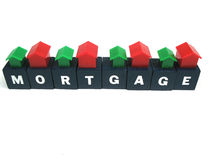 Wie man Ihre Hypothek zahlt? Stockbild