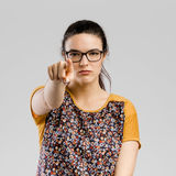 wie może skierować cię kobieta Zdjęcie Stock
