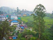 Wieś Munnar, Kerala, India Obrazy Stock