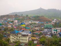 Wieś Munnar, Kerala, India Obraz Royalty Free