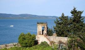 Wieża obserwacyjna nad morzem Fotografia Stock