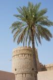 Wieża obserwacyjna przy Nizwa fortem Obrazy Royalty Free