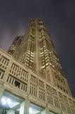 wieżowiec noc Fotografia Royalty Free