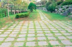 Wieś park Zdjęcia Royalty Free