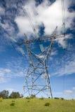 wieża pilonu elektryczne Obraz Royalty Free