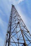 wieża radiowa Zdjęcie Stock